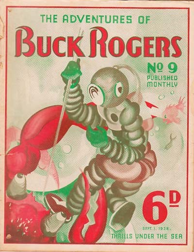 The Adventures of Buck Rogers (Fitchett, 1938 series) #9 (1 September 1938)