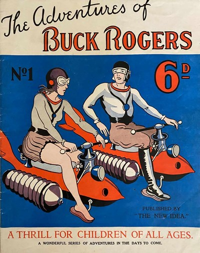 The Adventures of Buck Rogers (Fitchett, 1938 series) #1 ([1936?])