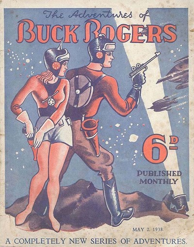 The Adventures of Buck Rogers (Fitchett, 1938 series) #5 ([2 May 1938?])