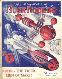 The Adventures of Buck Rogers (Fitchett, 1938 series) #6 (1 June 1938)