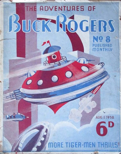 The Adventures of Buck Rogers (Fitchett, 1938 series) #8 ([1938?])