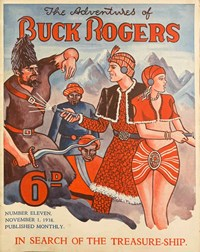 The Adventures of Buck Rogers (Fitchett, 1936 series) #11 — In Search of the Treasure-Ship