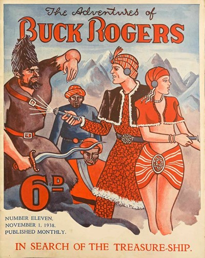 The Adventures of Buck Rogers (Fitchett, 1938 series) #11 ([1 November 1938?])