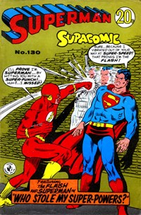 Superman Supacomic (Colour Comics, 1959 series) #130 — Who Stole My Super-Powers?