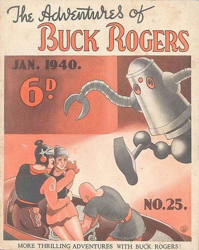 The Adventures of Buck Rogers (Fitchett, 1938 series) #25 (January 1940)