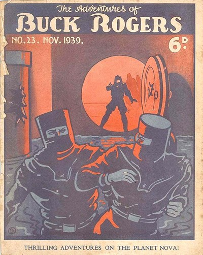 The Adventures of Buck Rogers (Fitchett, 1938 series) #23 (November 1939)