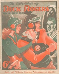 The Adventures of Buck Rogers (Fitchett, 1938 series) #18 (June 1939)