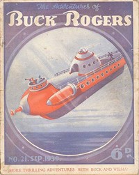 The Adventures of Buck Rogers (Fitchett, 1938 series) #21 (September 1939)