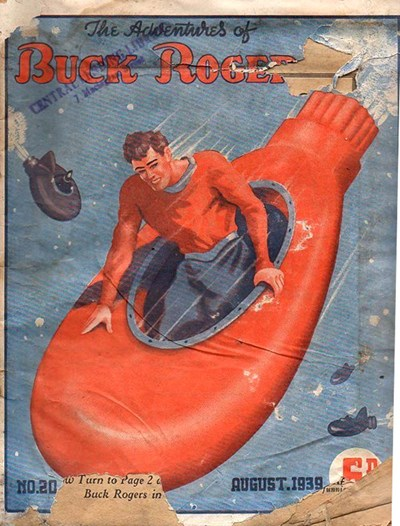 The Adventures of Buck Rogers (Fitchett, 1938 series) #20 (August 1939)