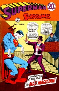 Superman Supacomic (Colour Comics, 1959 series) #144 — The Mad Magician