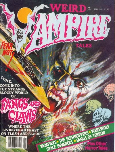 Weird Vampire Tales (Modern Day, 1979 series) #Vol. 5 No. 1 (January 1981)