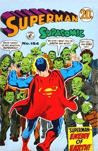 Superman Supacomic (Colour Comics, 1959 series) #154 — Superman--Enemy of Earth