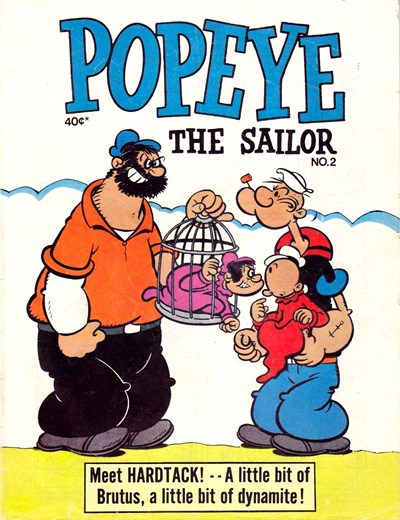 Popeye the Sailor (Yaffa/Page, 1980 series) #2 (1980)