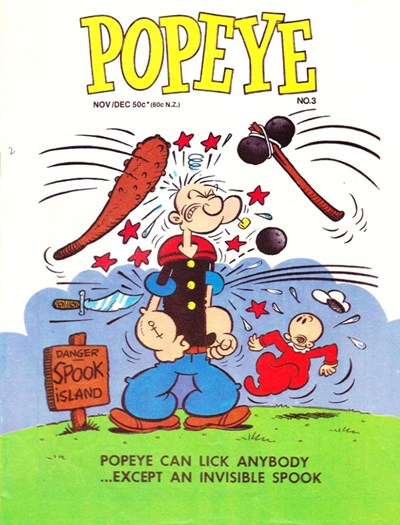 Popeye the Sailor (Yaffa/Page, 1980 series) #3 (Nov/Dec 1980)