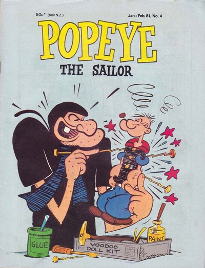 Popeye the Sailor (Yaffa/Page, 1980 series) #4 (January-February 1981)