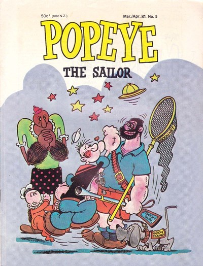 Popeye the Sailor (Yaffa/Page, 1980 series) #5 (March-April 1981)