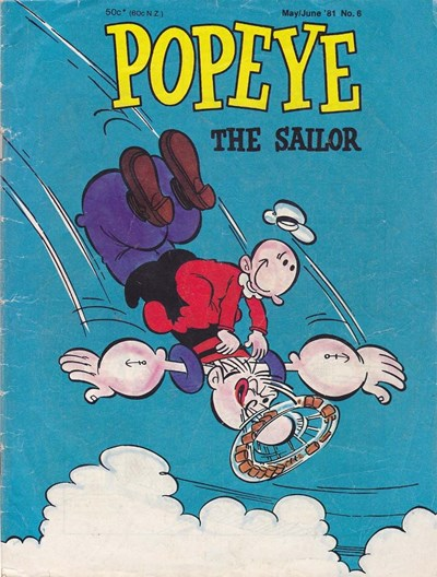 Popeye the Sailor (Yaffa/Page, 1980 series) #6 (May/June 1981)