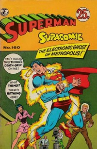Superman Supacomic (Colour Comics, 1959 series) #160 — The Electronic Ghost of Metropolis!