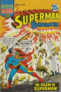 Superman Supacomic (KG Murray, 1974 series) #171