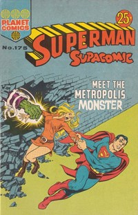 Superman Supacomic (KG Murray, 1974 series) #175 — Meet the Metropolis Monster