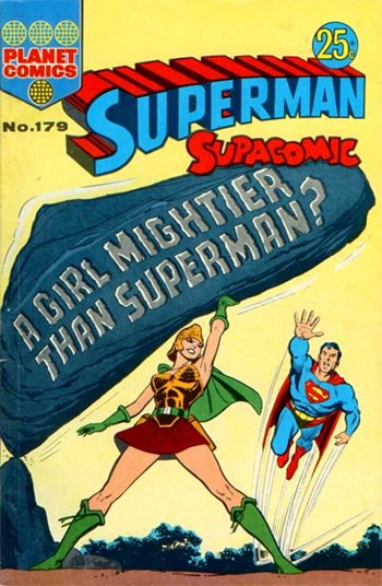 A Girl Mightier than Superman?