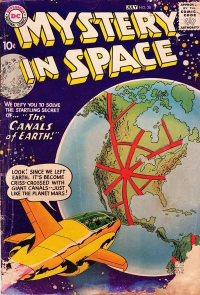 Mystery in Space (DC, 1951 series) #38 (June-July 1957)