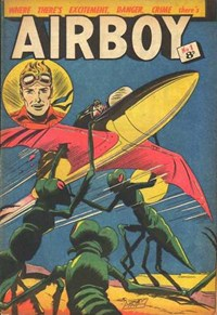 Airboy (AGP, 1953? series) #1 — Untitled