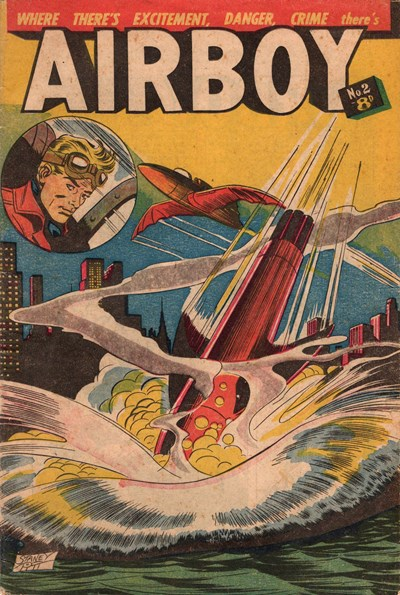 Airboy (Transport, 1953? series) #2 ([June 1953?])
