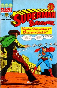 Superman Supacomic (KG Murray, 1974 series) #189