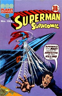 Superman Supacomic (KG Murray, 1974 series) #192