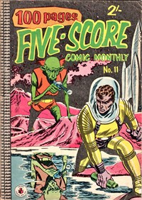 Five-Score Comic Monthly (Colour Comics, 1958 series) #11 — No title recorded