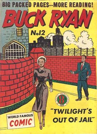 Buck Ryan Detective (Atlas, 1950 series) #12