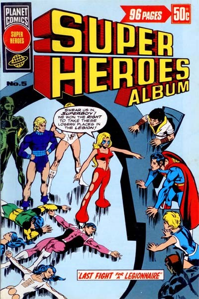 Super Heroes Album (KG Murray, 1977? series) #5 ([March 1977?])