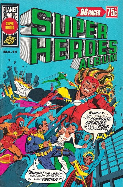 Super Heroes Album (Murray, 1977 series) #11 (September 1978)