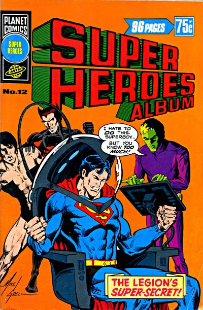 Super Heroes Album (Murray, 1977 series) #12 ([April 1979])
