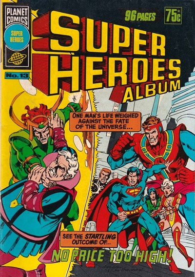 Super Heroes Album (Murray, 1977 series) #13 ([July 1979?])