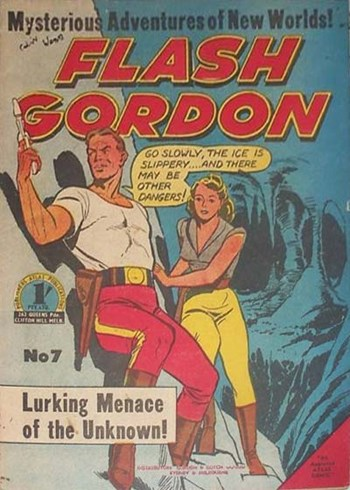 Flash Gordon (Atlas, 1956 series) #7 ([January 1957?])