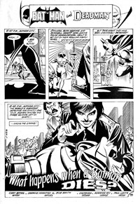 Batman and the Teen Titans (Murray, 1981?)  — What Happens When a Batman Dies? (page 1)