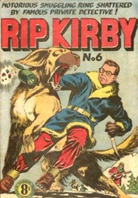 Rip Kirby (Atlas, 1951 series) #6 — Untitled