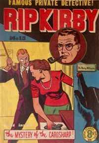Rip Kirby (Atlas, 1951 series) #13 — The Mystery of the Cardsharp!