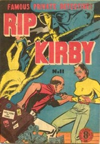 Rip Kirby (Atlas, 1951 series) #11 — Untitled