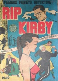 Rip Kirby (Atlas, 1951 series) #10 — Who is Melody Lane?