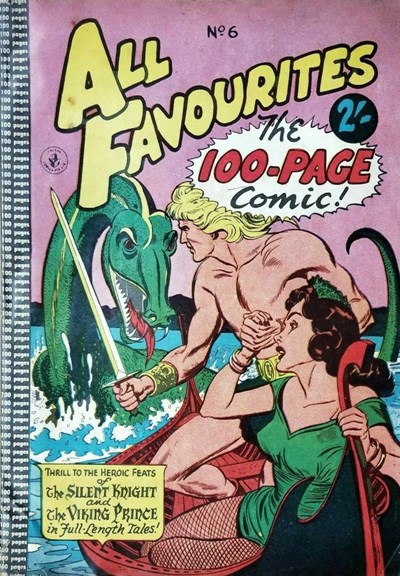 All Favourites, The 100-Page Comic (Colour Comics, 1958 series) #6 ([April 1958?])