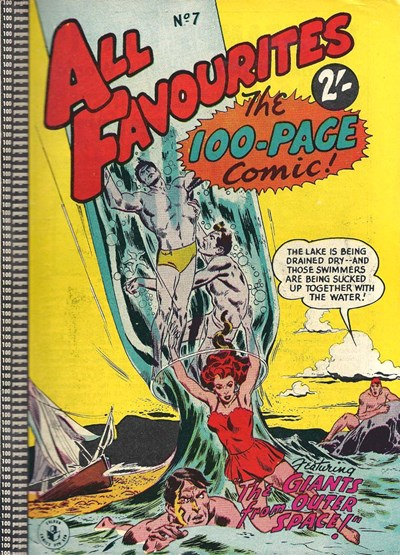 All Favourites, The 100-Page Comic (Colour Comics, 1958 series) #7 ([May 1958?])