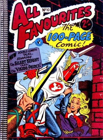 All Favourites, The 100-Page Comic (Colour Comics, 1958 series) #10 ([November 1958?])