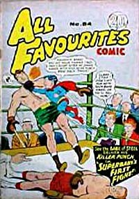 All Favourites Comic (Colour Comics, 1960 series) #54 — Superbaby's First Fight