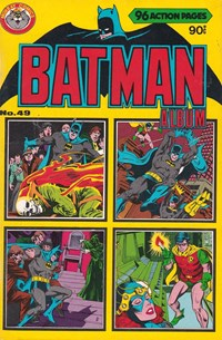 Batman Album (Murray, 1978 series) #49 ([January 1981?])