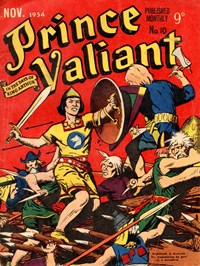 Prince Valiant in the Days of King Arthur (Associated Newspapers, 1954 series) #10 — Untitled (Cover)