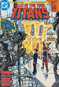 Tales of the Teen Titans (Federal, 1985 series) #11 ([August 1985?])