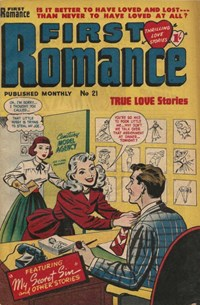 First Romance (Barmor, 1952 series) #21